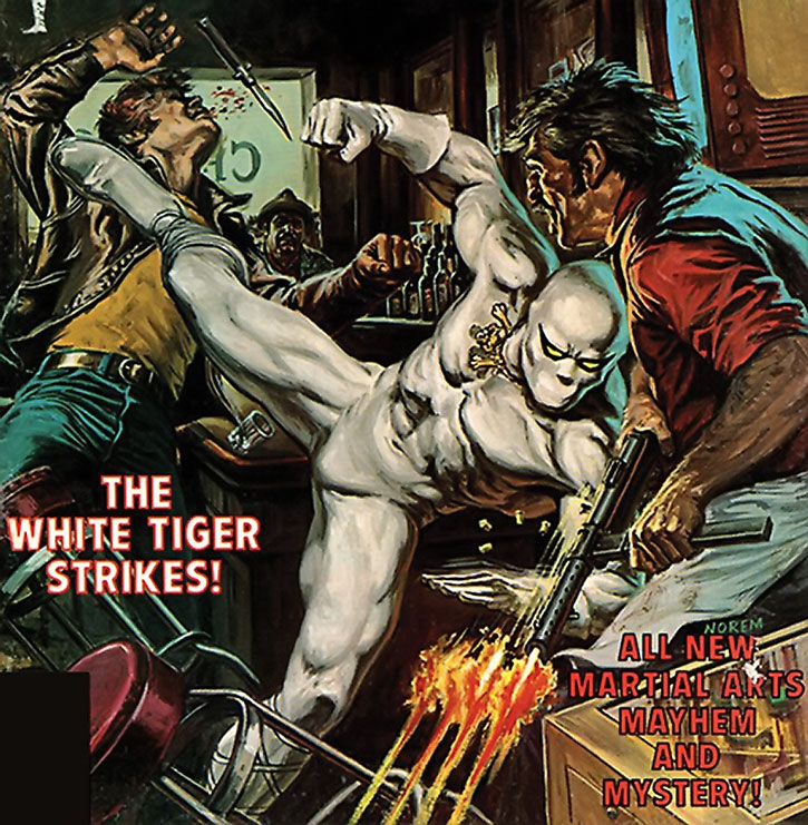 White Tiger Marvel Comics Hector Ayala H4 Caribbean Show Off